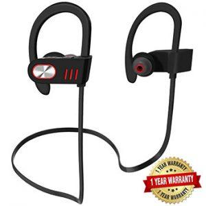 Hhusali-Bluetooth-Headphones-Wireless-In-Ear-Earbuds-(Red)