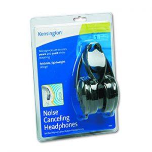 Kensington-K33084-Noise-Canceling-Headphone,-Black