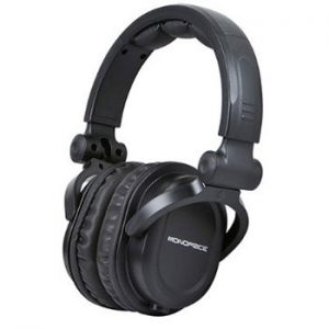 Monoprice-108323-Premium-Hi-Fi-DJ-Style-Over-the-Ear-Pro-Headphone-Bundle