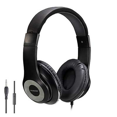 3-AUSDOM-Lightweight-Over-Ear-Wired-HiFi-Stereo-Headphones